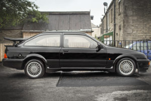 This Ford Sierra Cosworth RS500 holds the current auction record at £115,750