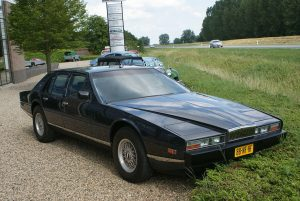 The Aston Martin Lagonda was certainly distinctive!