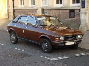 Just how you remember it, the Austion Allegro – in brown, of course.