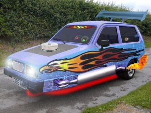 Maybe this Reliant Robin holds a bit more appeal!
