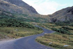 One of the most challenging drives in Britain, Hardknott is not for the fainthearted.