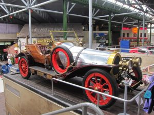 Yes, it's a real car, and here's the proof at the Beaulieu Motor Museum!