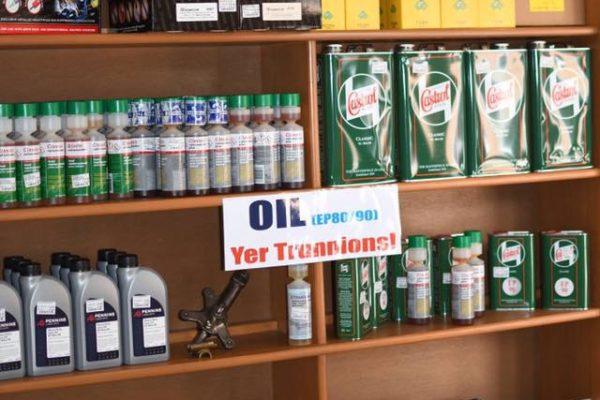 Shop Oil Section
