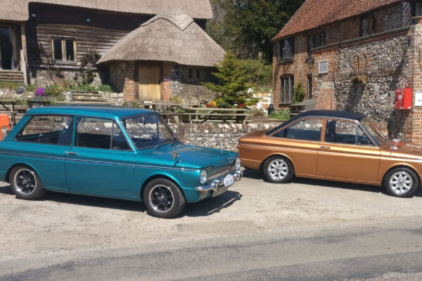 Digby-Harman---Hillman-Imp-Super-and-Sunbeam-Stiletto-out-and-about-in-Oxfordshire-on-Drive-it-Day-2021.