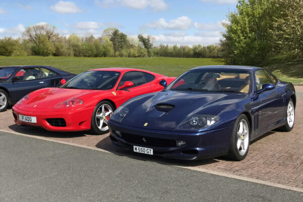 Mark Blanchard - My Son and I had an 80 mile drive through Oxfordshire with the Ferrari Owners Club. Fantastic fun.