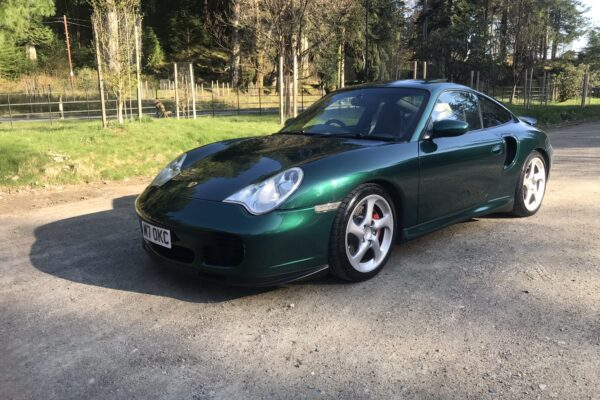 Michael - Benmore botanical gardens Argyll nice little drive for my 996 turbo in rare forest green