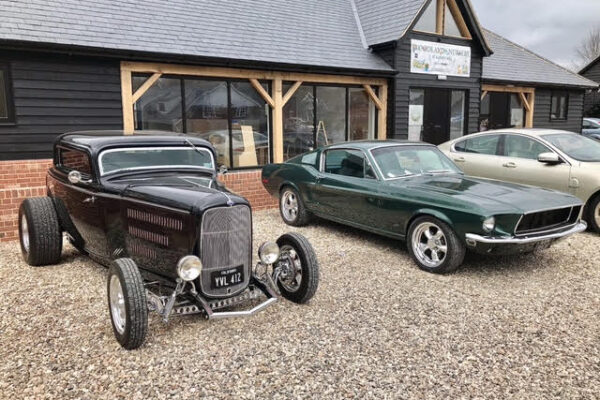 Mike Bray - These were taken at Kersey Mill, mine is the black 32 Coupe