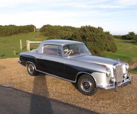 Thomas King - 1957 Mercedes 22S Coupe